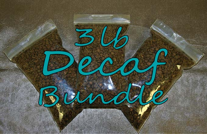 3 lb bundle decaf