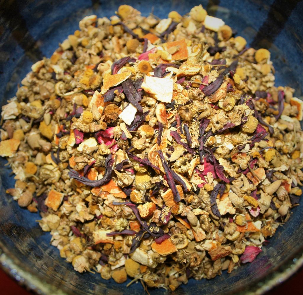 Bianca Blend herbal tea infusion