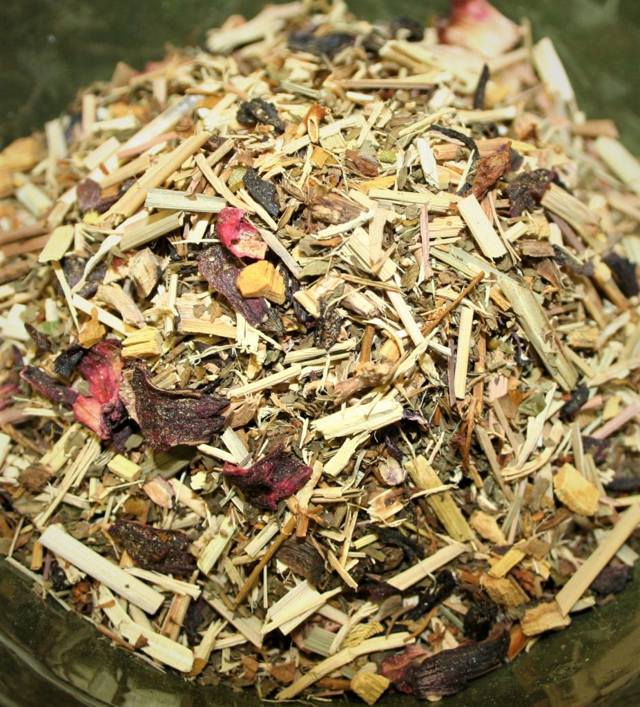 Herbal Energizer herbal tea infusion