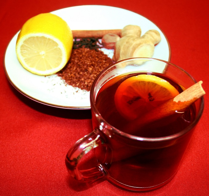 warm rooibos cocktail