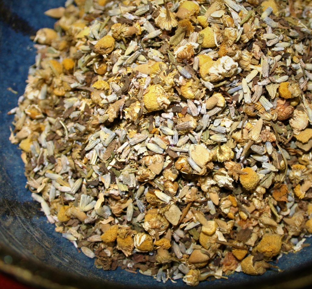 Lavender Sleepy Time BCT Premium Blend herbal tea infusion