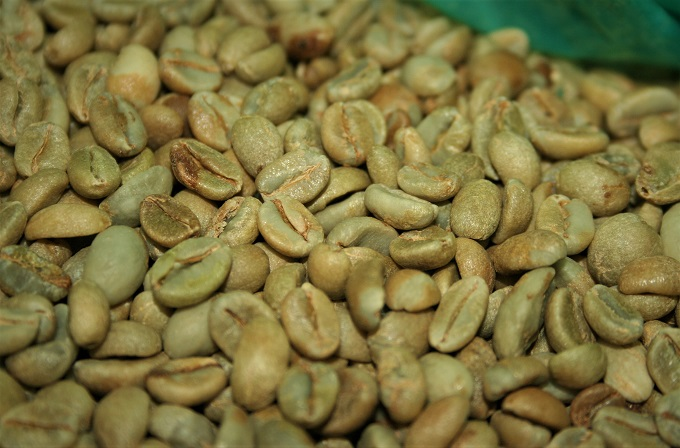 natural process coffee beans