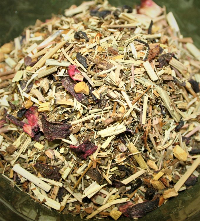 herbal energizer tea