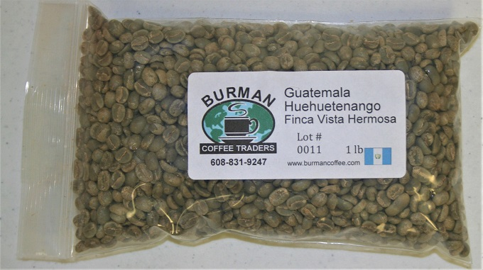 Green Coffee Beans Gift for Coffee Lovers