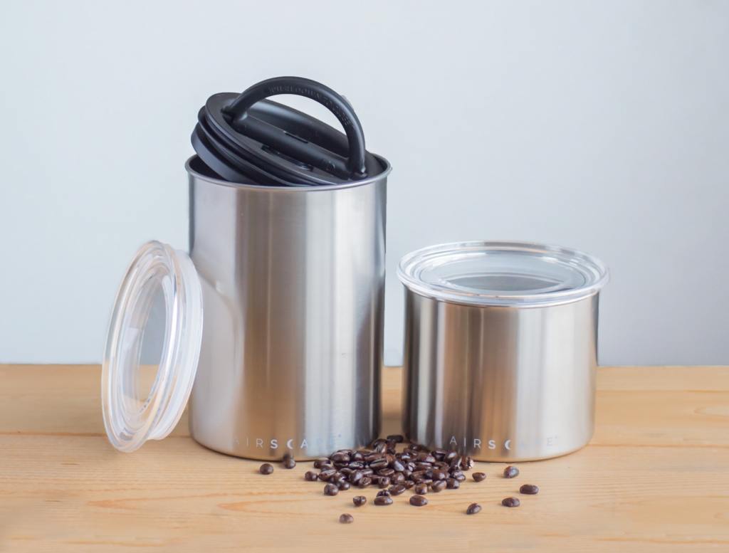 Planetary coffee storage container