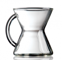 chemex glass mug with handle
