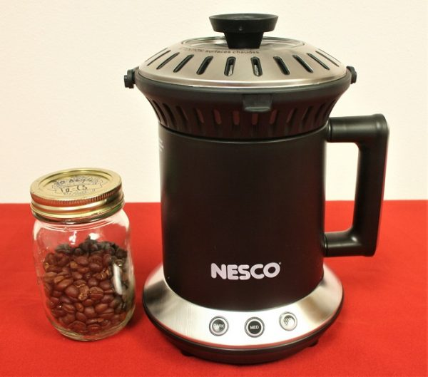 Nesco Roaster and roaster coffee